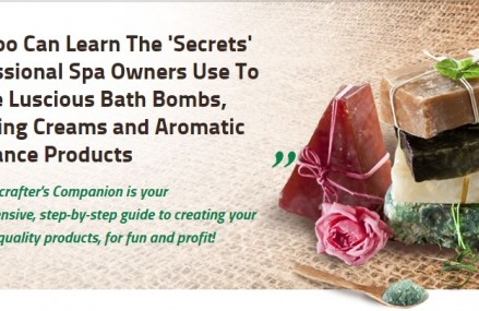 Learn how to make and sell homemade bath and body products