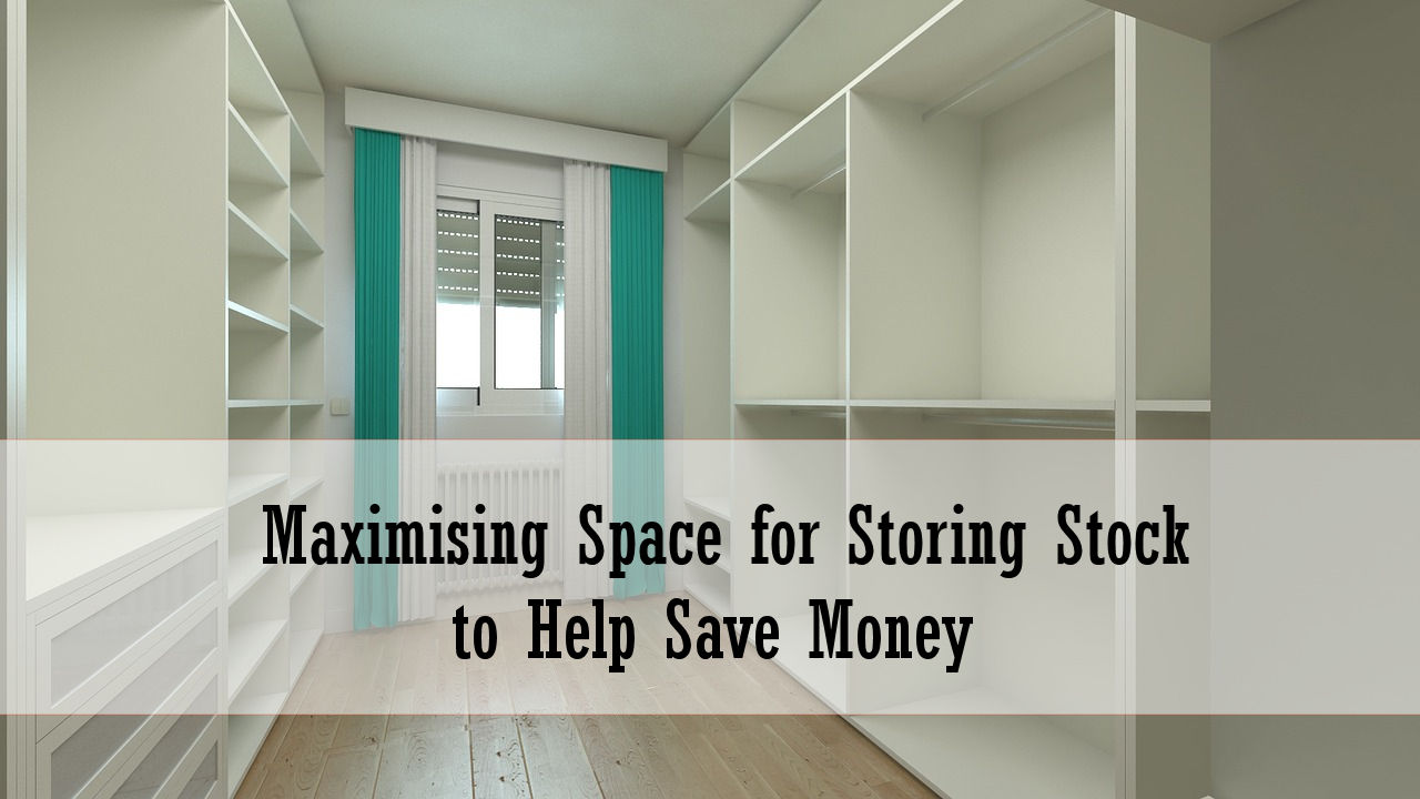 Maximising space for storing stock