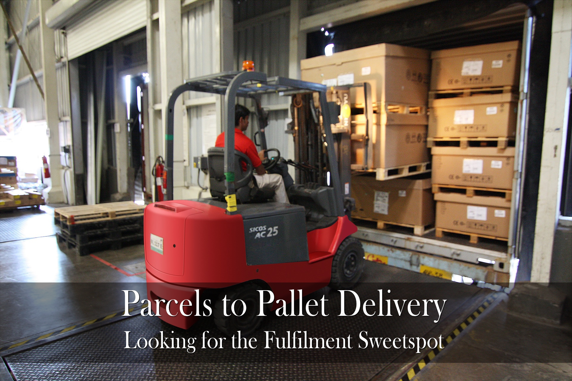 parcels to pallet delivery fulfilment