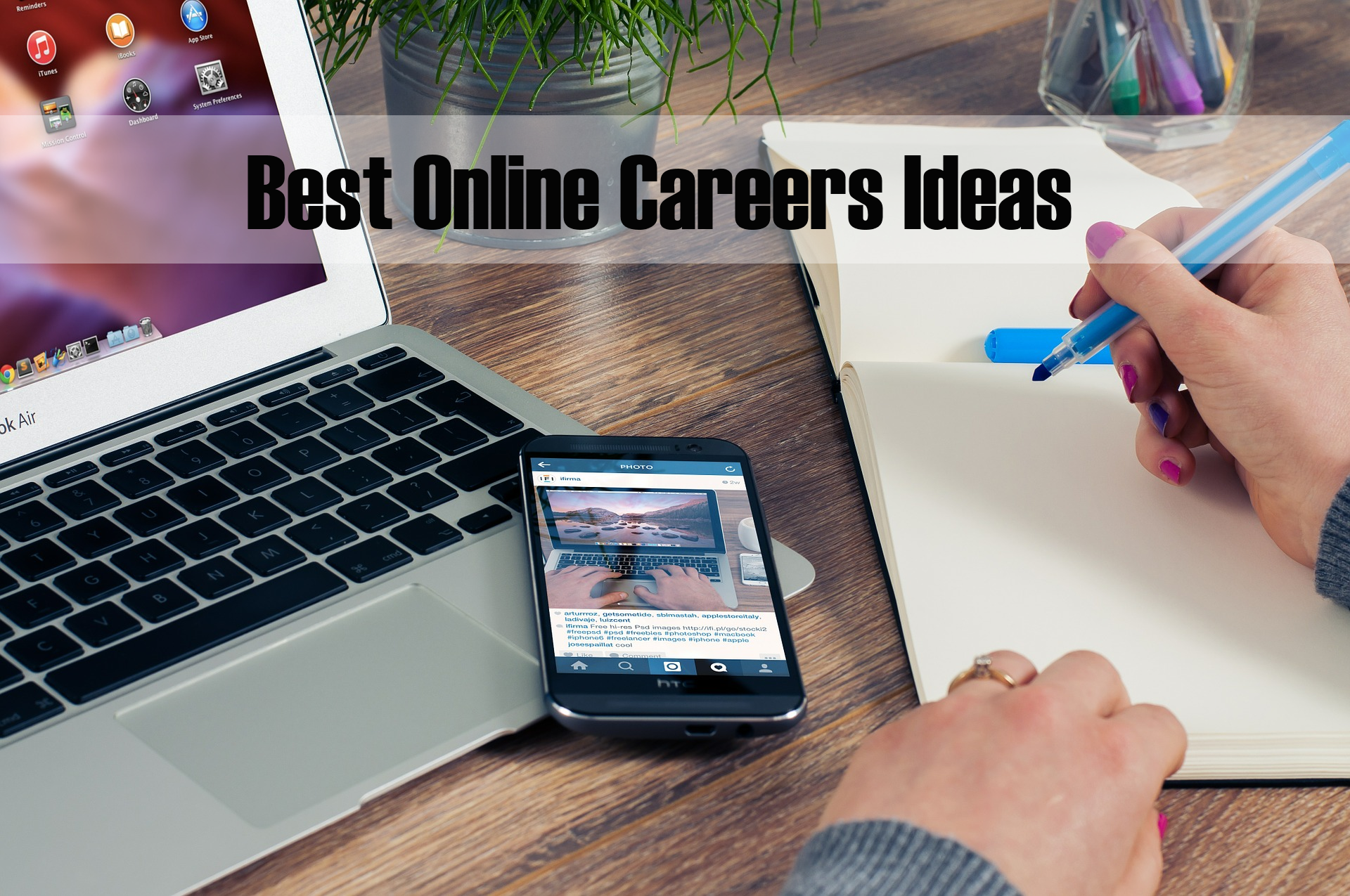 online career ideas