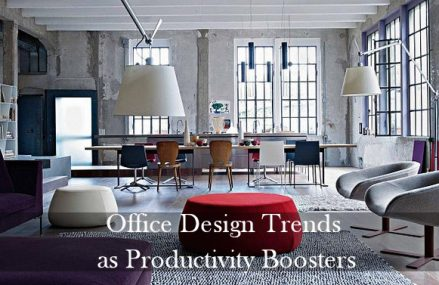 Office Design Trends as Productivity Boosters